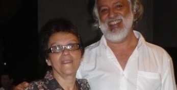 Deolinda Vilhena e Marcio Meirelles