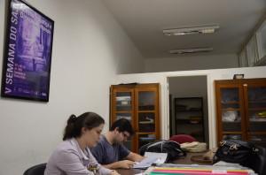 Estudantes do SAJU. Foto: Edvan Lessa