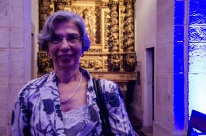 A reitora Dora Leal Rosa.  Foto: Virgínia Andrade