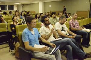 Plateia da SemBio. Foto: Vanice da Mata