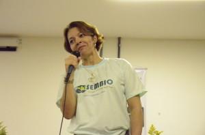 Sueli Almuiña Holmer Silva, Chefe do Dpto. Biologia Geral Foto: Vanice da Mata