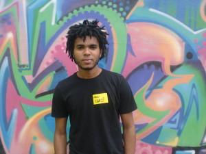 O estudante e pesquisador Evanilton Gonçalves. Foto: Divulgação