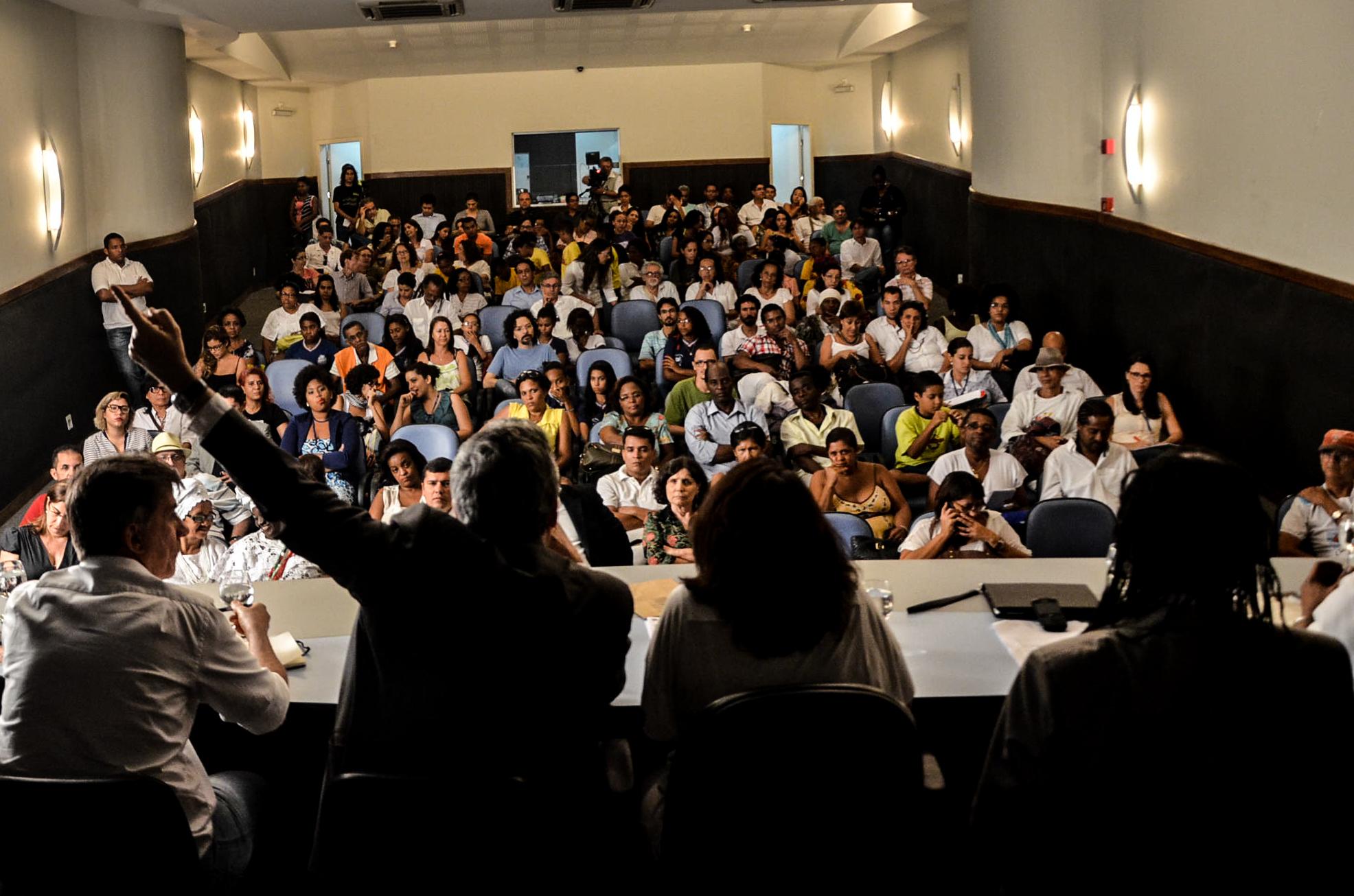 Audiência Pública - Perspectivas para a cultura no município de Salvador Foto: Dudu Assunção