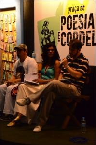 Piligra, Lita Passos e Vladimir Queiroz em apresentação. Foto: Gustavo Salgado