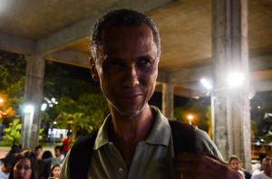 Ednilson Sacramento, estudante de Jornalismo da UFBA.  Foto: Rayssa Guedes
