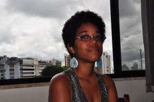 A estudante de Jornalismo Emile Conceição participou da ACCS Memória Social: audiovisual e identidades no primeiro semestre de 2012. Foto: Émile Cerqueira