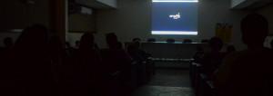 Auditório da Facom recebeu a exibição do documentário na última quarta-feira, 16 Foto: Gustavo Salgado
