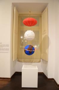 Exposição contou com esculturas, pinturas e instalações interativas. Foto: Gustavo Salgado