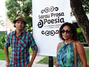 Fábio Haendel e Lígia Benigno. Foto: Lorena Brandão