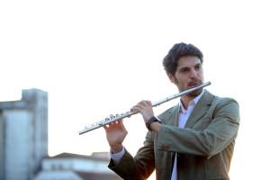 Flautista João Liberato  Foto: Divulgação