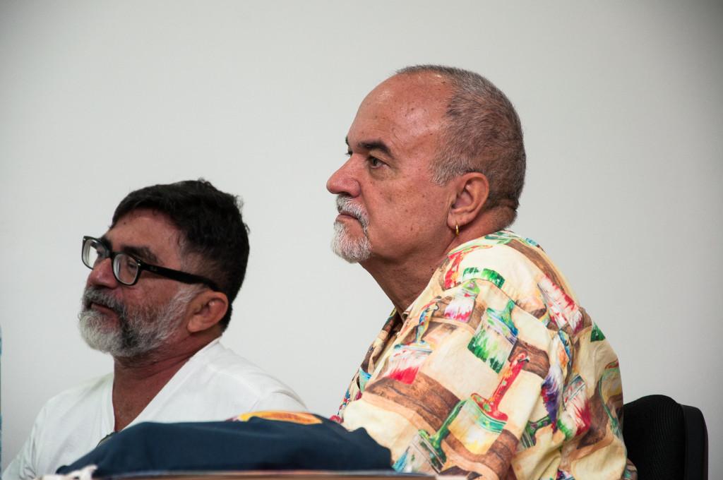 Maurício Tavares e Luiz Mott [Fotos: Milena Abreu/Labfoto ]