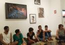 Expositores promovem bate papo sobre o V Salão de Arte da EBA