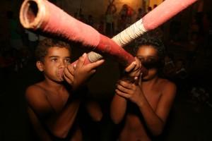 Meninos Kariri-Xocó Foto Bruno Pacheco de Oliveira