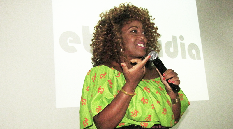 Tia Má participa de evento na Facom/ foto: reprodução