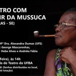 Escola de Teatro promove encontro com D. Nadir da Mussuca