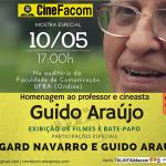 26ª edição do Cinefacom homenageia Guido Araújo
