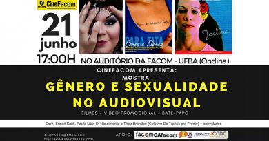 CineFacom apresenta Mostra Gênero e Sexualidade no Audiovisual