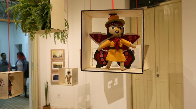 A exposição celebra o primeiro ano da empresa