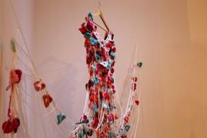 A artista homenageou a mãe com um vestido / Foto: Geovana Côrtes