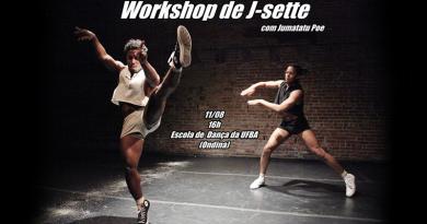 Coreógrafo americano ministra oficina gratuita na Escola de Dança