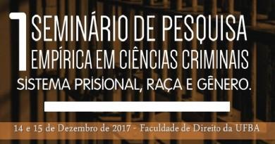 Sistema prisional é tema de seminário na Faculdade de Direito