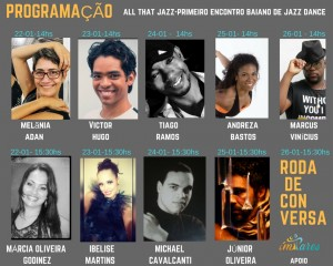 PROGRAMAÇÃO-ALL THAT JAZZ