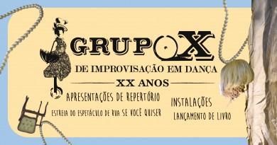 Grupo X de Improvisação em Dança completa 20 anos e comemora com uma série de atividades