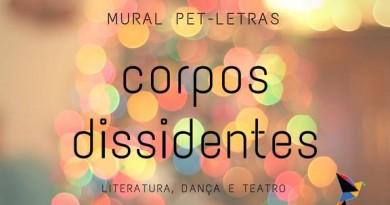 Mural do PET Letras discute literatura, teatro e dança em nova edição