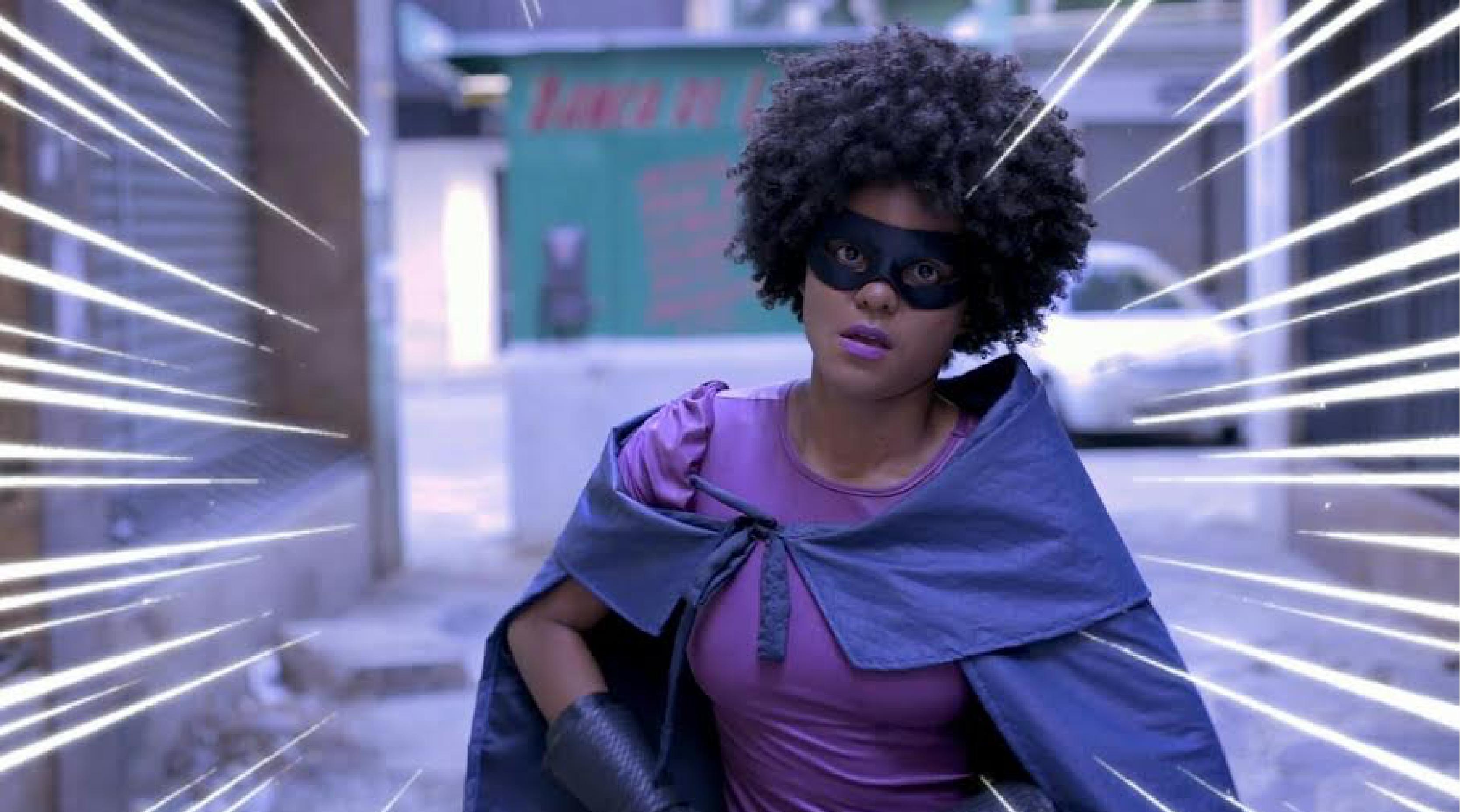 Punho Negro: conheça a super heroína que combate vilões em Salvador
