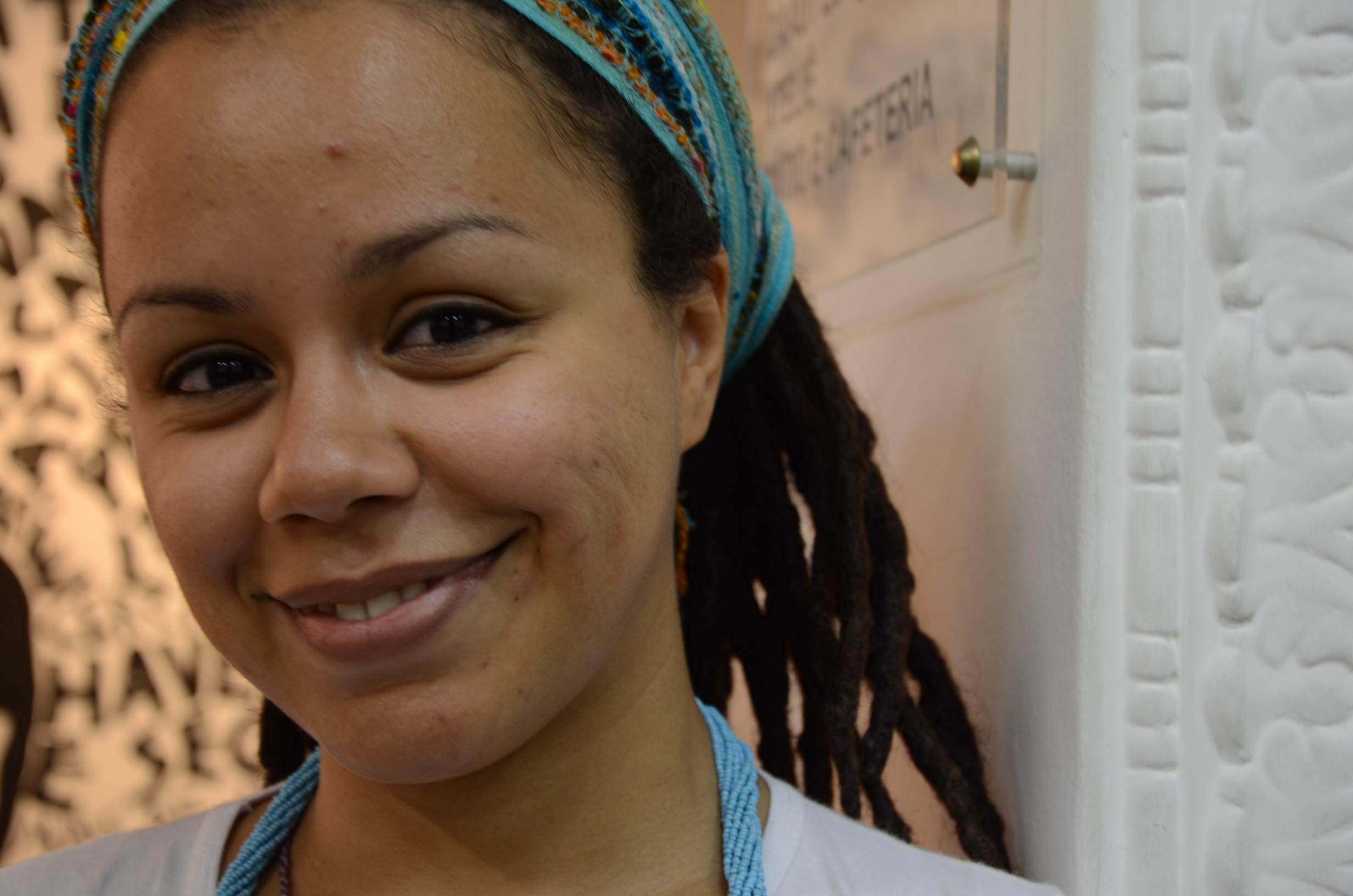 A artista Tina Melo. Foto: Vanice da Mata
