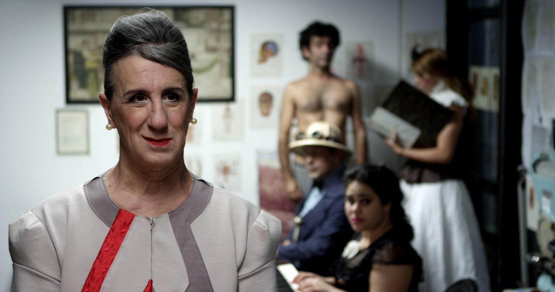 Foto: Reprodução Vestido de Laerte