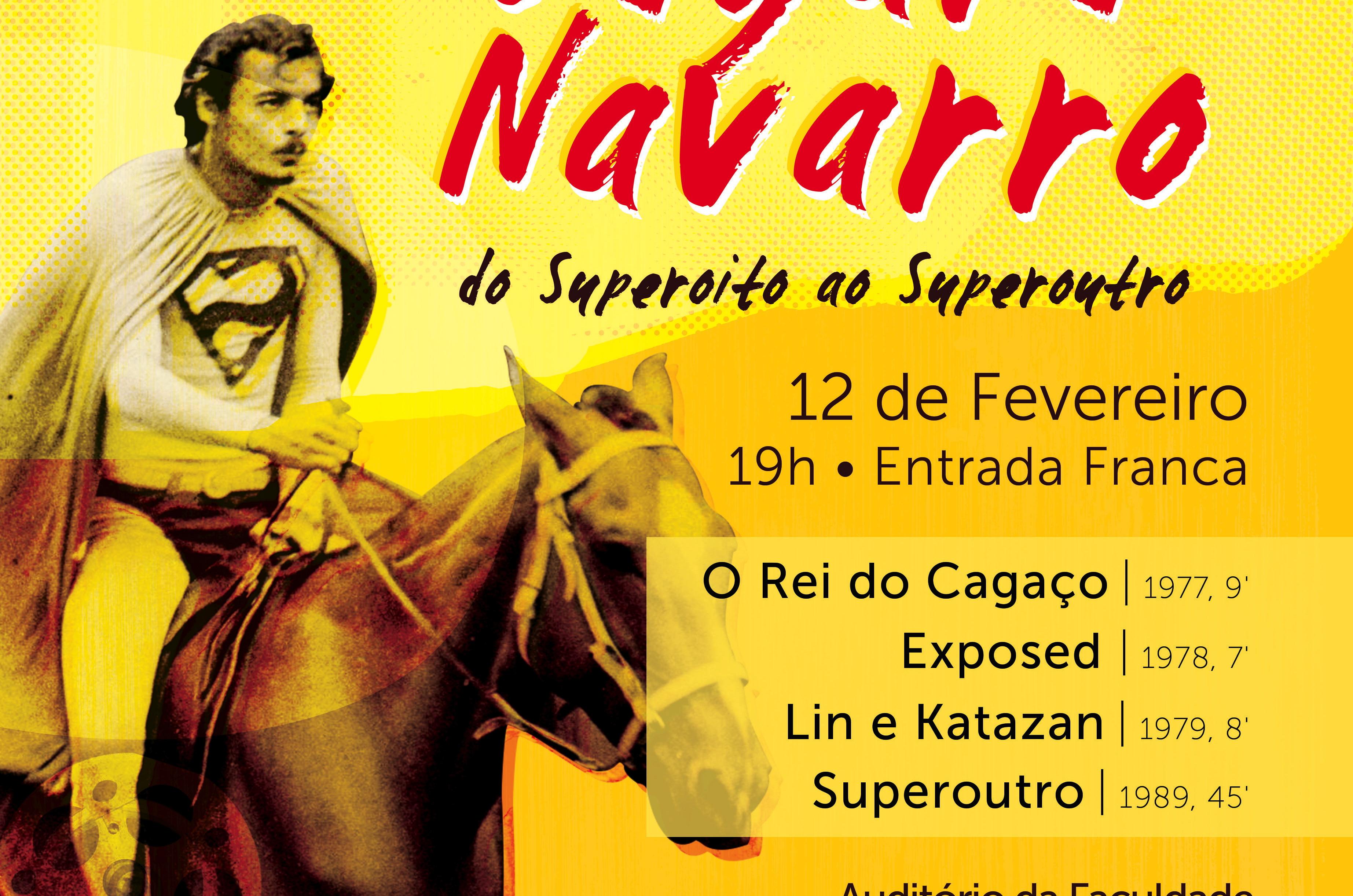 Cartaz Mostra Especial Edgar Navarro