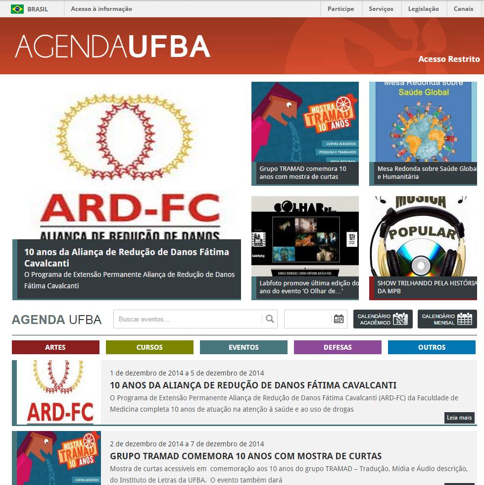 agenda ufba