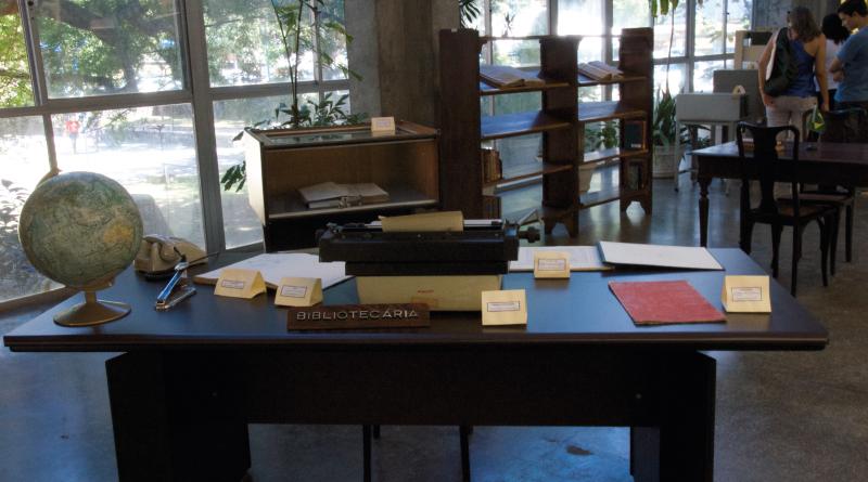 Exposição está aberta durante os dias do Congresso