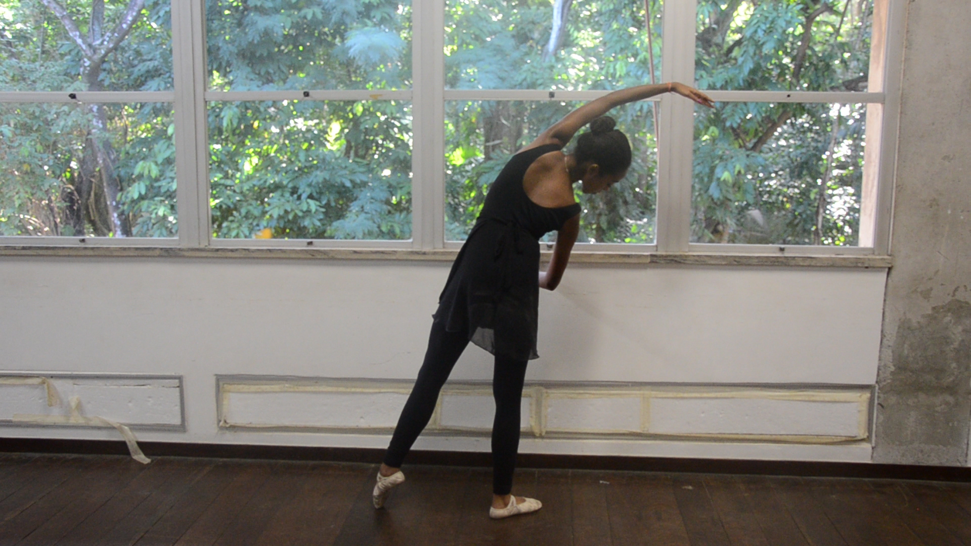 Isabella começou no ballet com apenas 4 anos