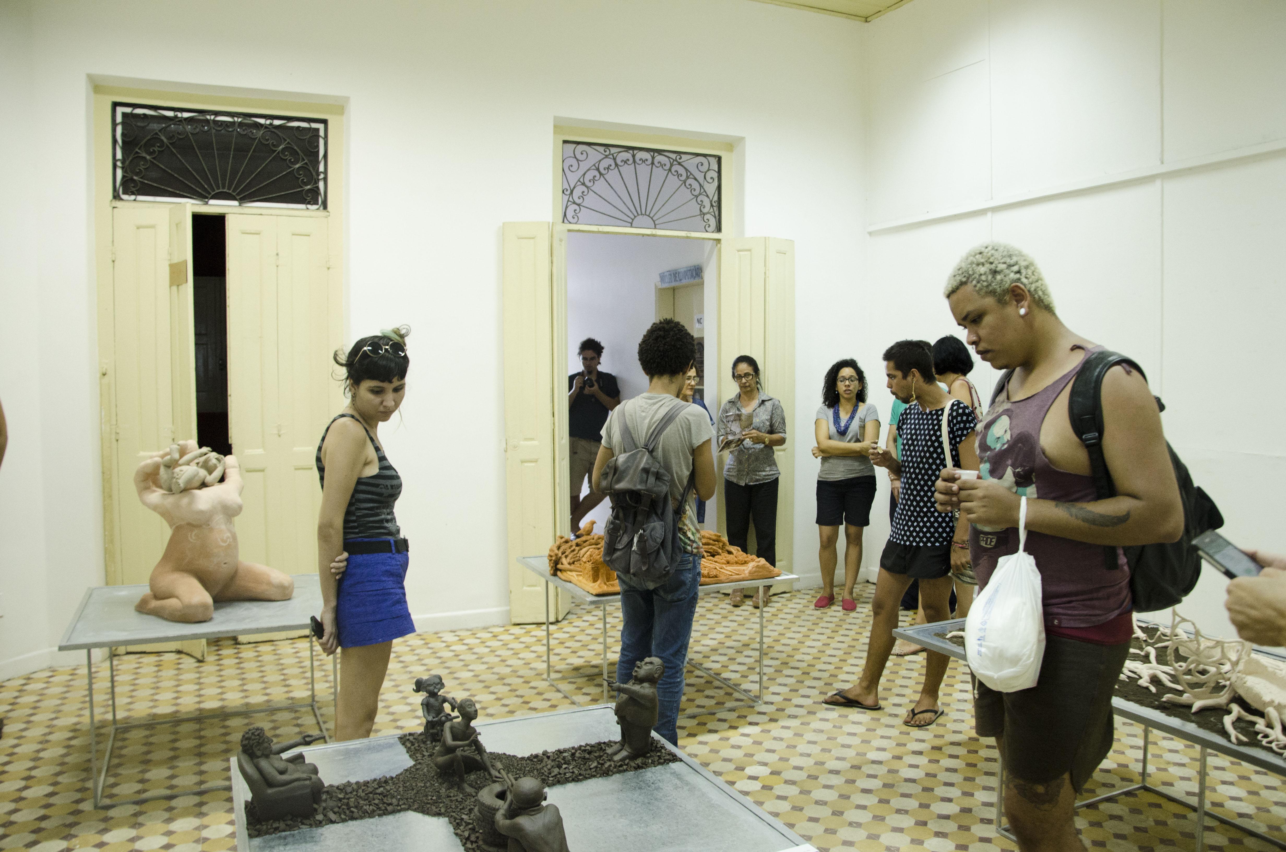 Exposição apresenta trabalhos de quatro estudantes
