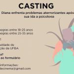 Coletivo de cinema seleciona atrizes para elenco de curta-metragem