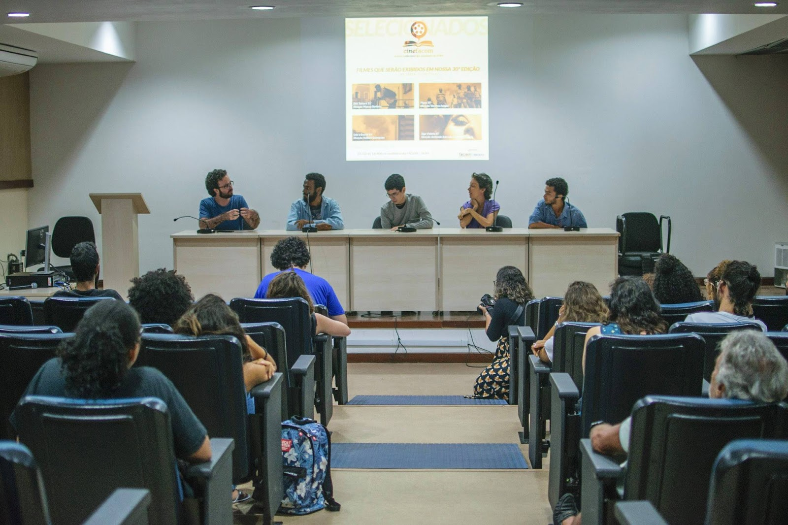 CineFacom: curtas de estudantes são exibidos na UFBA