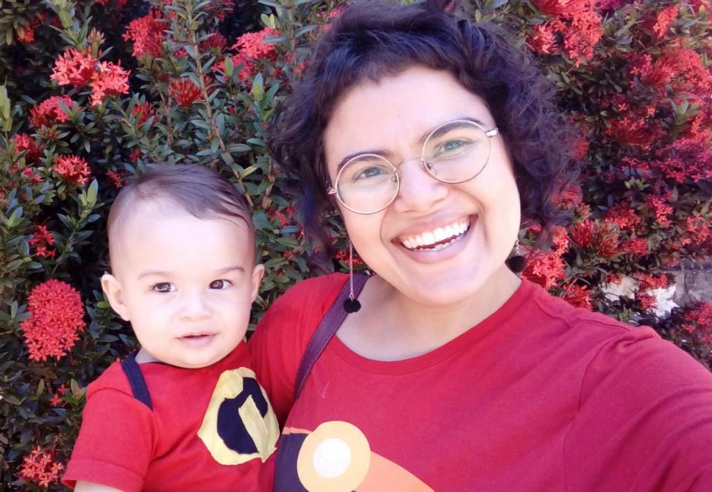 Débora fala da necessidade de mais espaços para as mães dentro da universidade (Foto: Acervo Pessoal)