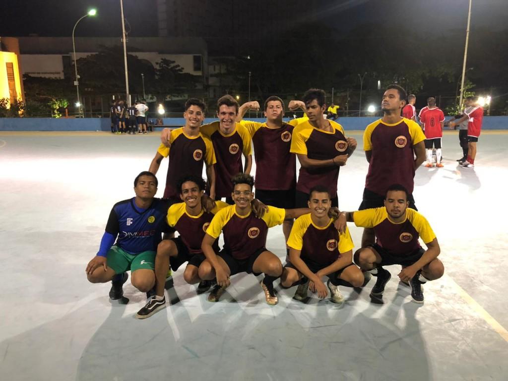 Time de futsal masculino da Athena (Foto: Divulgação)