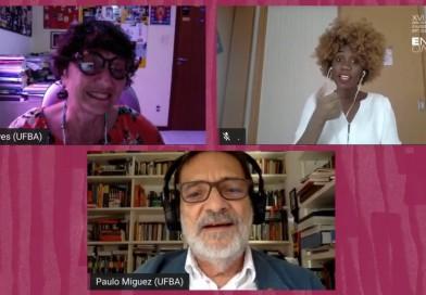 Enecult virtual: mesa de abertura discute os desafios atuais no campo da cultura