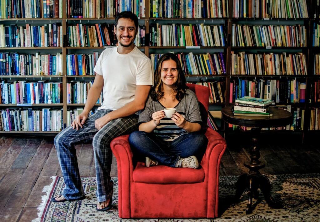 Carla conta que trabalhar com cultura sempre foi um sonho dela e do irmão Lúcio (foto: Acervo pessoal)
