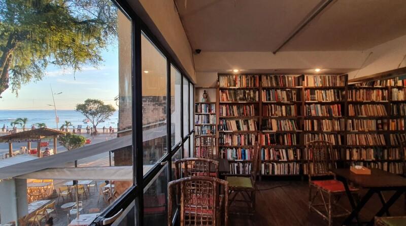 A loja física do Porto dos Livros ficava ao lado do Centro de Artesanato da Bahia, na Barra (foto: Divulgação)