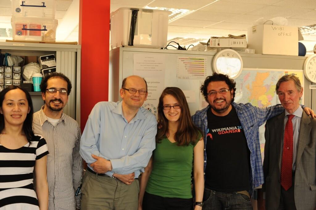 Membros do Wiki Movimento Brasil se encontram com wikipedistas do Reino Unido em 2013