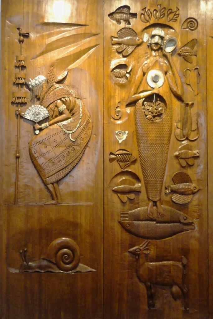 Carybé, apesar de argentino, morou grande parte da vida em Salvador e suas obras foram inspiradas no cotidiano e religiosidade baiana (Foto: Tony Bittencourt)