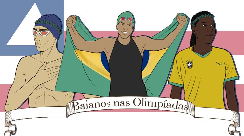 Ilustração Olimpiadas Maria Clara